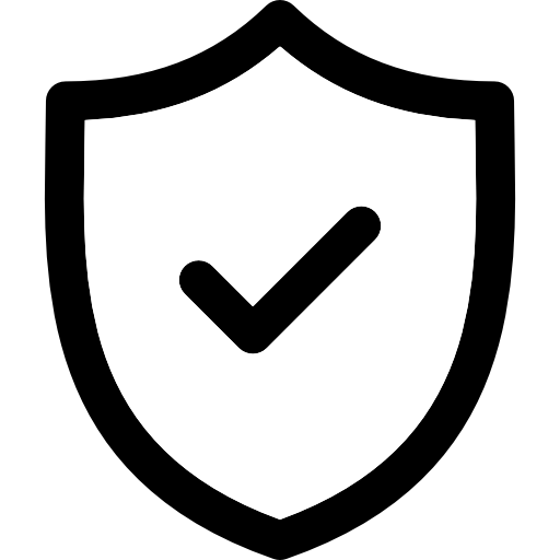 Ícone representando privacidade e segurança