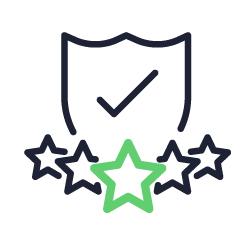 Ícone representando o atendimento especializado da Flash Data.