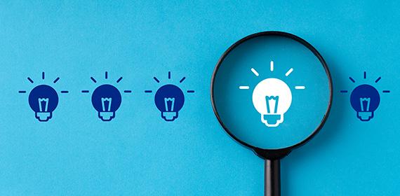 Imagem representando a ideia de inovação e otimização em TI.