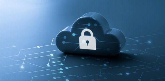 Imagem ilustrativa representando segurança em nuvem.